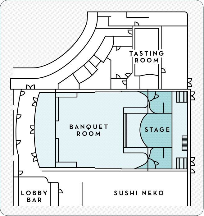 Will Rogers Theatre Layout